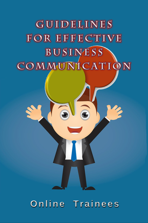 Product picture Guidelines For Effective Business Communication
