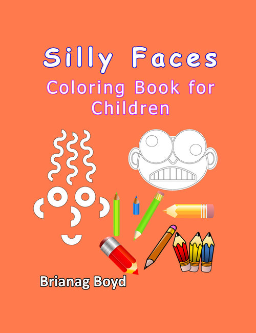 Product picture Silly Faces: Coloring Book for Children