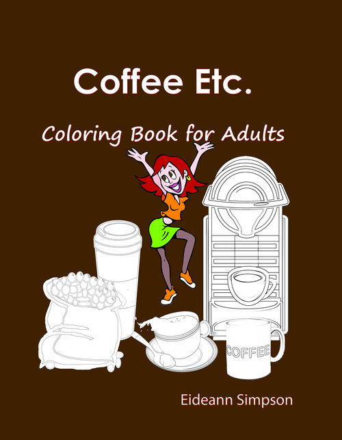 Product picture Coffee Etc.: Coloring Book for Adults