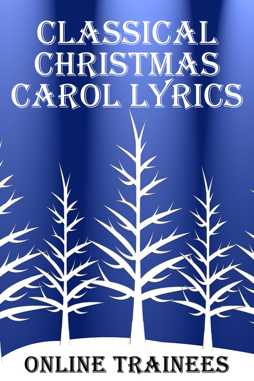 Product picture Classical Christmas Carol Lyrics